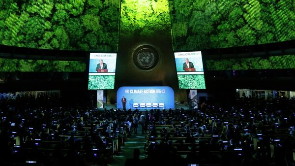 Генеральной Ассамблея ООН. 23 сентября 2019