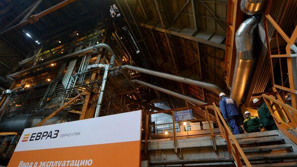 Запуск новой доменной печи на Нижнетагильском металлургическом комбинате