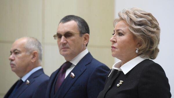 Матвиенко назвала приоритетные направления осенней сессии Совфеда