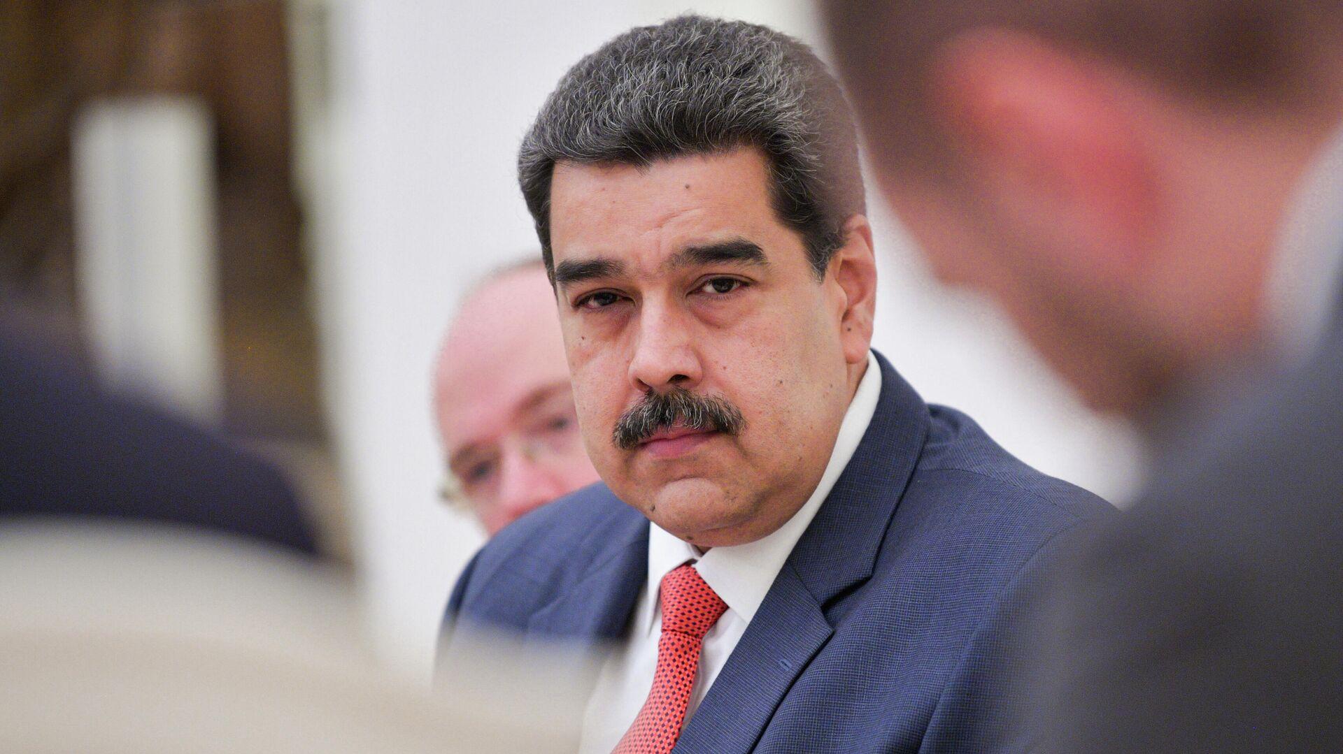 Президент Венесуэлы Николас Мадуро во время встречи с президентом РФ Владимиром Путиным - РИА Новости, 1920, 21.01.2021