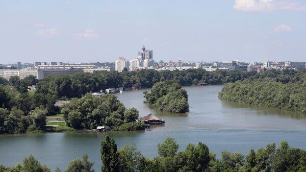 Вид на город Белград