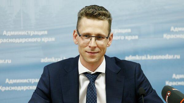 Врио главы департамента инвестиций и развития малого и среднего предпринимательства Краснодарского края Виталий Воронов