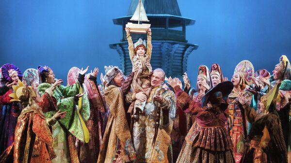 Сцена из оперы Сказка о царе Салтане