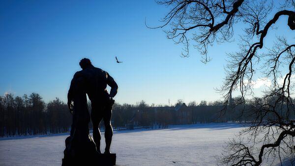 Царскосельский парк в Санкт-Петербурге