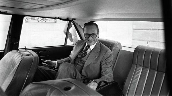 Премьер-министр Франции Жак Ширак. 20 апреля 1976 года