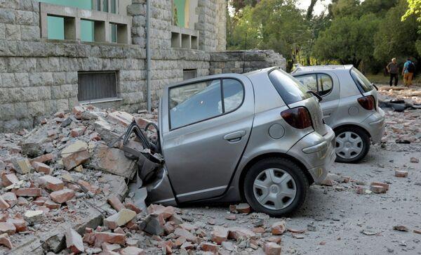 Последствия землетрясения в Тиране, Албания