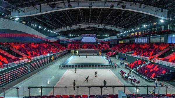Арена во Дворце центра гимнастики Ирины Винер