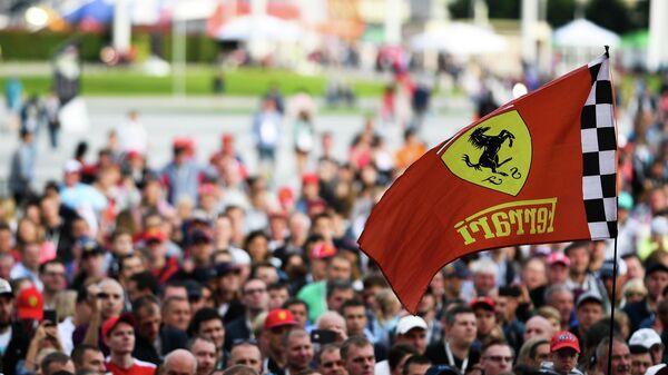 Подготовка к гонке Формулы-1