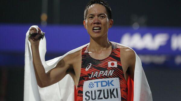 Японский легкоатлет Юсуке Сузуки