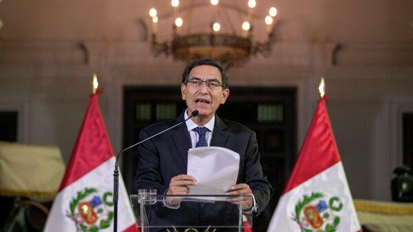 Президент Перу Мартин Вискарра