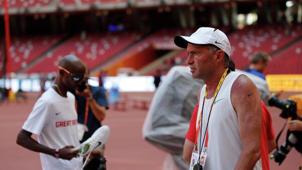 Тренер четырехкратного олимпийского чемпиона по легкой атлетике британца Мо Фара Альберто Салазар
