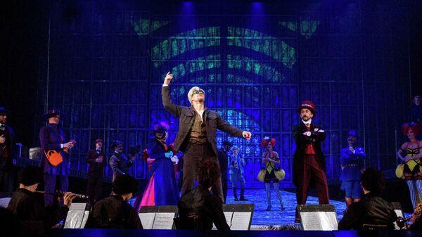Трагикомедия с оркестром Сирано де Бержерак на сцене Театриума Терезы Дуровой