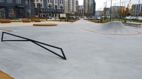 Скейтпарк в  ЖК Испанские кварталы в новой Москве