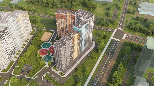 Жилой комплекс Лучи в Москве