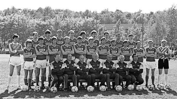 Сборная команда СССР по футболу, участвующая в чемпионате Европы в 1988 году