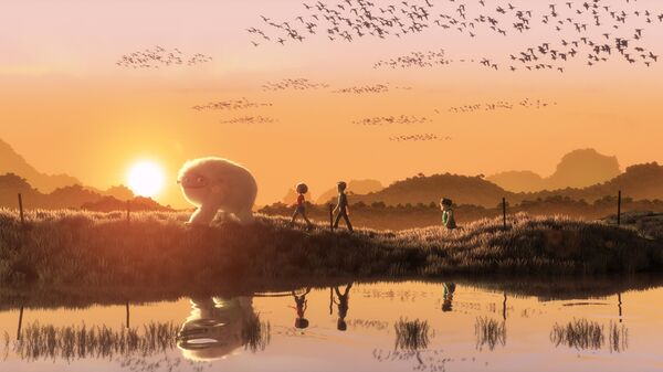 Кадр из мультфильма Эверест