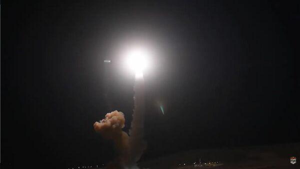 Опубликовано видео испытаний американской  баллистической ракеты