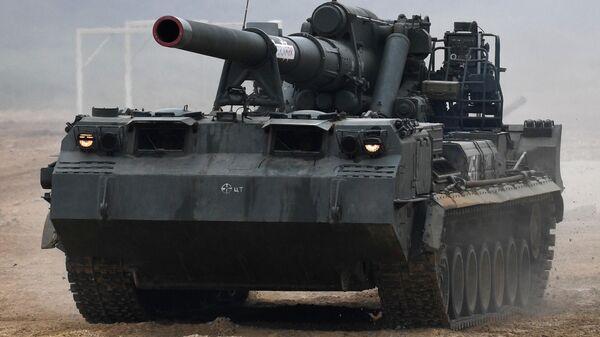 Самоходная пушка 2С7М Малка