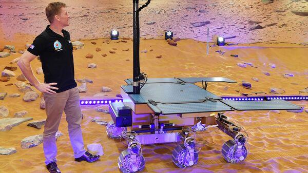 Прототип британского марсохода Rosalind Franklin ExoMars