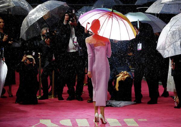Американская актриса Рене Зеллвегер на премьере фильма Джуди в Лондоне. 30 сентября 2019
