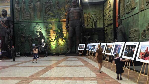 Работы участников Международного фотоконкурса Русская цивилизация в Галерее искусств Зураба Церетели
