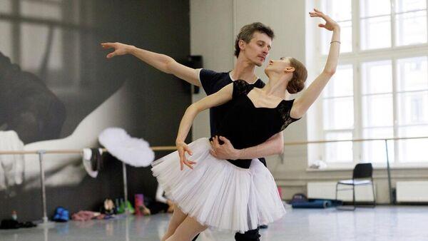 Фрагмент балета Баядерка