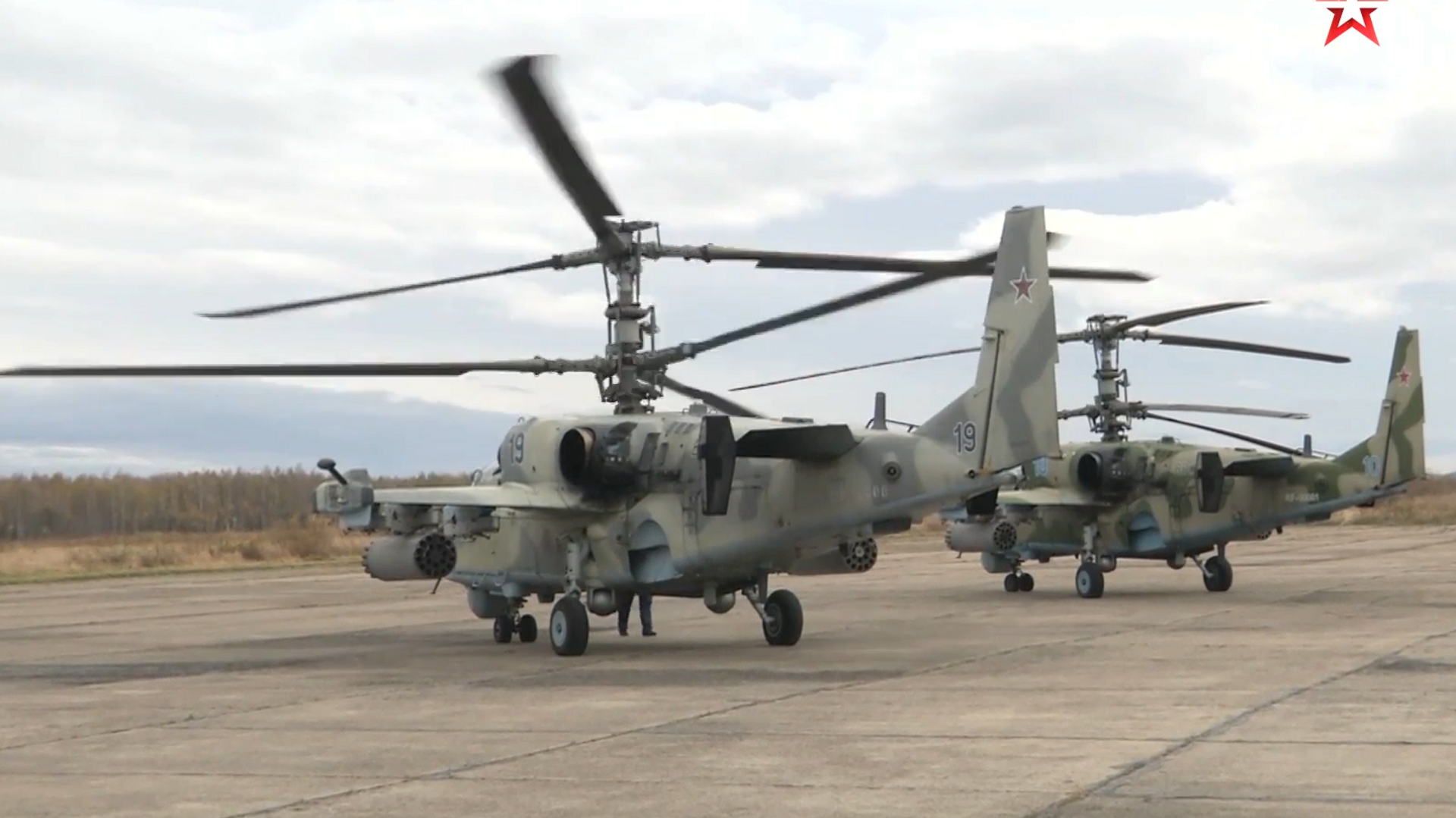 Обои ударный, российский, «аллигатор», Ка-52. Авиация