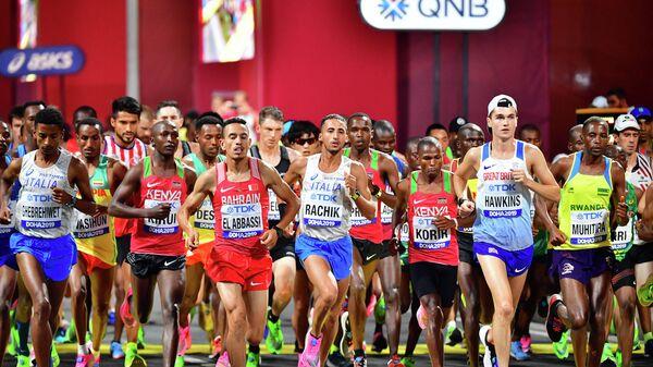 Марафон на чемпионате мира по легкой атлетике
