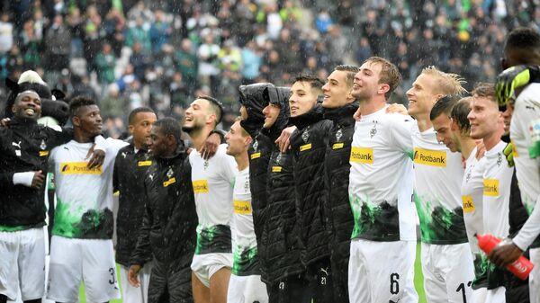 Футболисты менхенгладбахской Боруссии