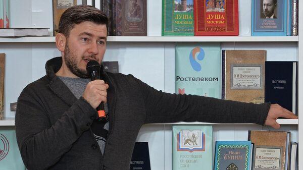 Писатель Дмитрий Глуховский на творческом вечере