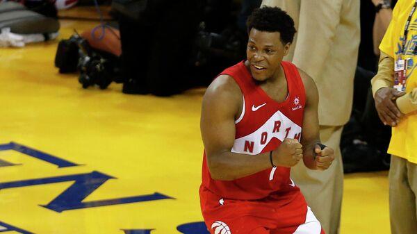 Действующий чемпион НБА Торонто и разыгрывающий Кайл Лоури