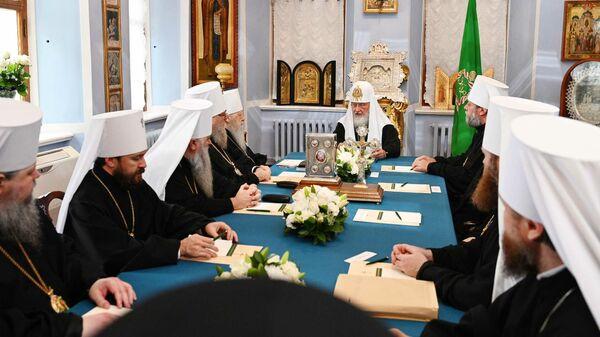 Заседание Священного Синода Русской Православной Церкви
