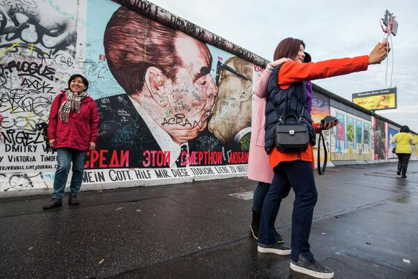 East Side Gallery в Берлине