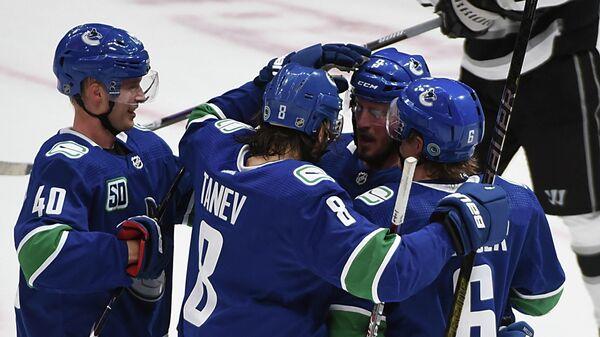 """""""Ванкувер"""" разгромил """"Лос-Анджелес"""" в матче НХЛ"""