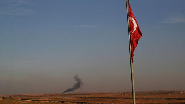 Обстрел сирийской территории турецкими силами