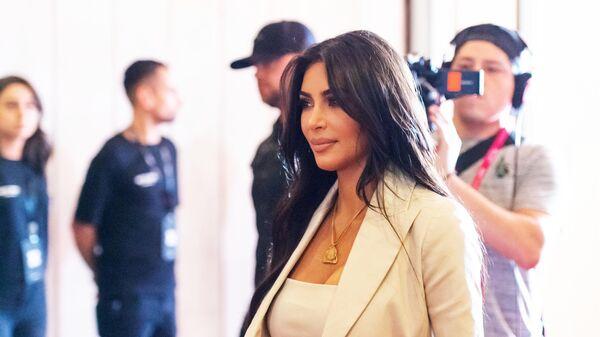 Американская модель, актриса Ким Кардашьян в Ереване