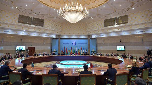 Заседание Совета глав государств СНГ в расширенном составе