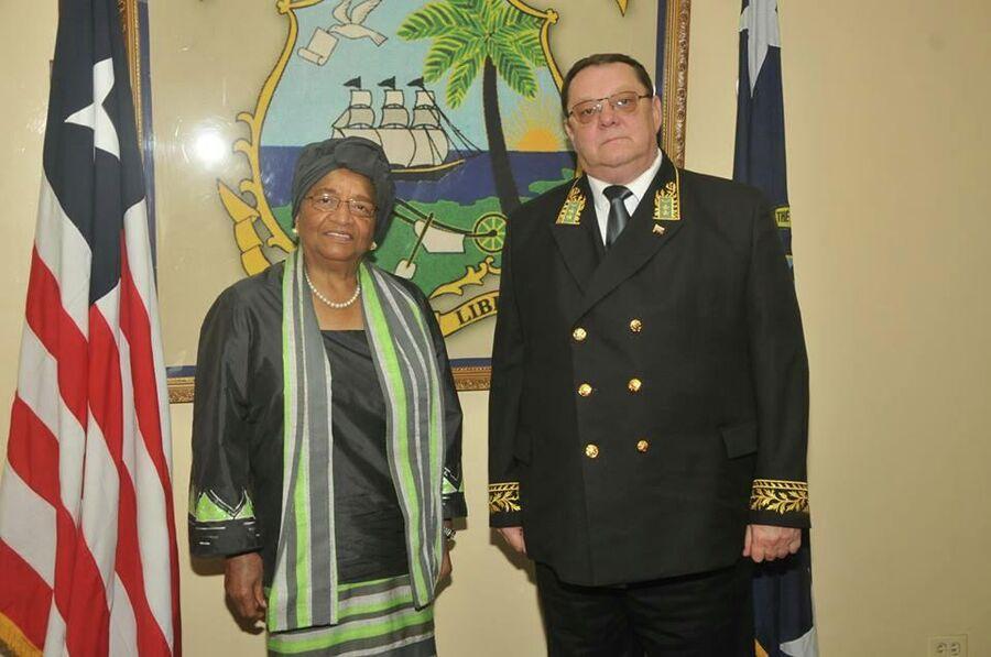 Чрезвычайный и Полномочный Посол России в Гане и Либерии Дмитрий Суслов