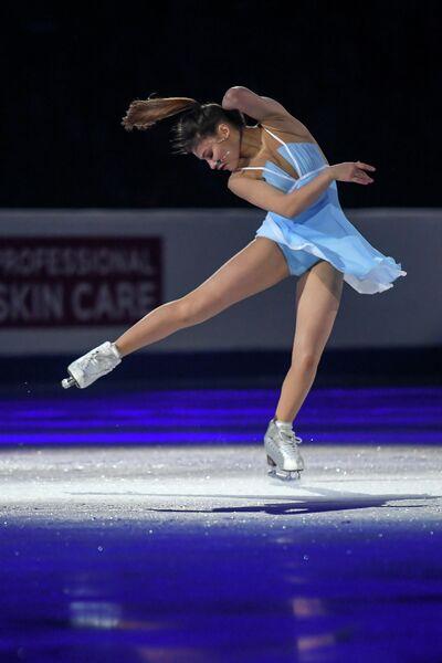 Фигуристка Софья Самодурова