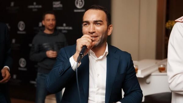 Президент промоутерской компании Fight Nights Global Камил Гаджиев