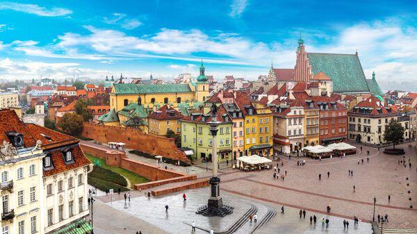 Вид Варшавы