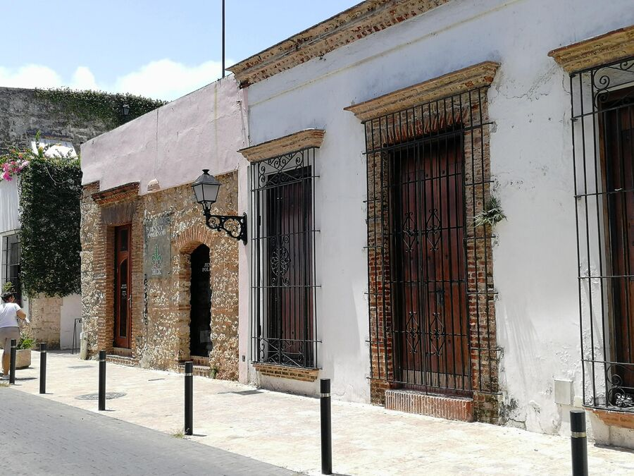 Санто-Доминго. Дома в историческом центре