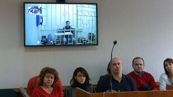 Рассмотрения апелляционной жалобы на арест заместителя гендиректора Аэрофлота Владимира Александрова, обвиняемого в крупном мошенничестве. 16 октября 2019