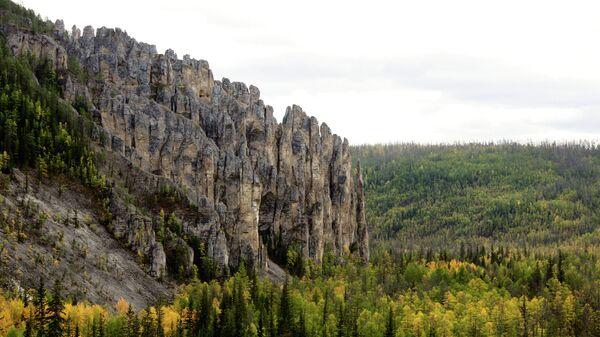Национальный природный паркЛенские столбы в Якутии