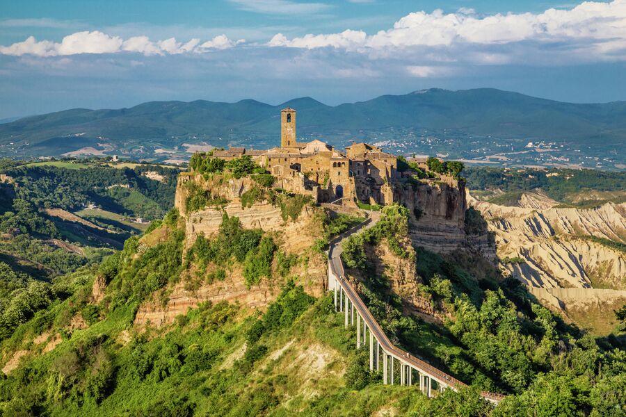 Чивита-ди-Баньореджо, Лацио, Италия