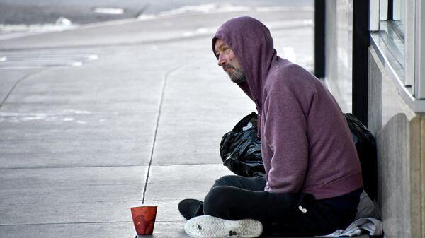 Бездомные на улицах Сан-Франциско