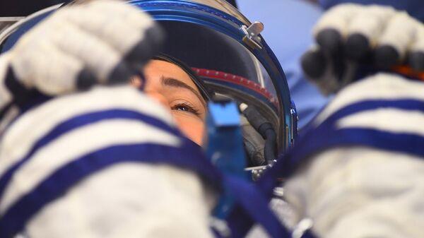 LIVE: Выход  в открытый космос женского экипажа астронавтов из США