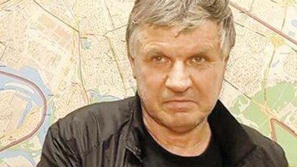 Серийный маньяк Валерий Макаренков. Кадр из оперативной съемки