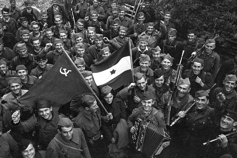 Освобождение Белграда, октябрь 1944 года