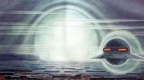 Рисунок Венера. На пути шаровая молния художника Андрея Соколова